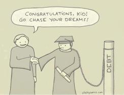 Congratulations, Kid! Go chase your dreams!
