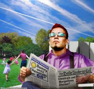 Deesillustrations - Sunny until Chemtrails
