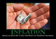 Inflation - Because the easiest way to steal your wealth is by cheapening your money.