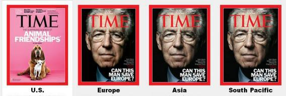 Time - US, Europe, Asia, South Pacific