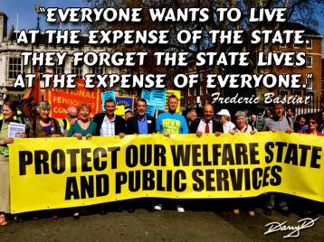 Frederic Bastiat - Everyone wants to live at the expense of the state. They forget the state lives at the expense of everyone